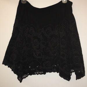 Black Free People Skirt